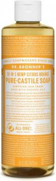 PURE-CASTILE LIQUID SOAP CITRUS ORANGE