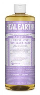 PURE-CASTILE LIQUID SOAP LAVENDER