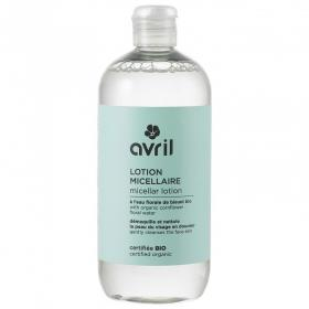 Cleansing micellar lotion 500ml - Certified organic