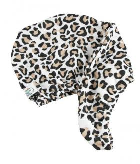 Hair Turban Leopard Print