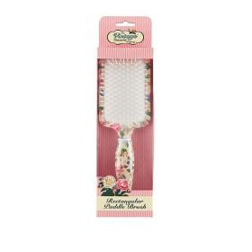 VINTAGE RECTANGULAR PADDLE HAIR  BRUSH
