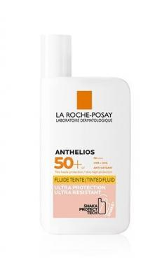 Anthelios invisible Tinted Fluid SPF50+ Αντιηλιακή με Χρώμα