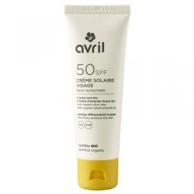 Face sunscreen 50 SPF