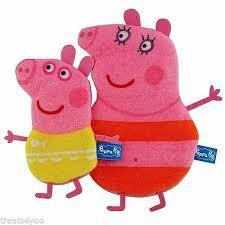 Peppa Mommy & Me Wash Mitts