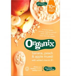 Banana, Peach & Apple Muesli 10 months+