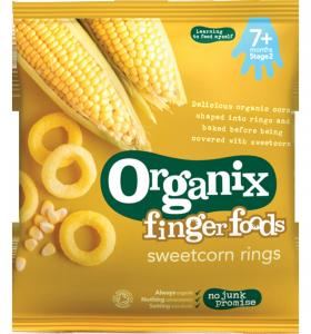 Sweetcorn Rings 7 months+
