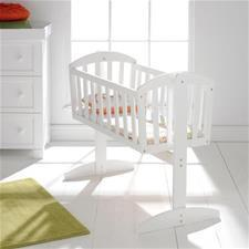 Vienna Swinging Crib White