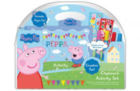 Peppa Clipboard Activity Set