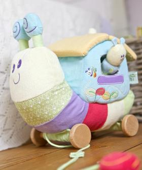 Softly Snail Activity Fun House
