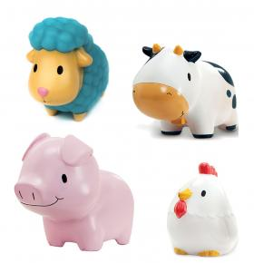BARNYARD FRIENDS (4 PACK)