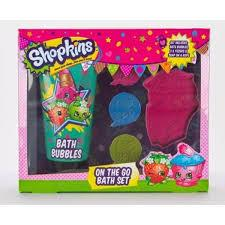 Shopkins Bath Set
