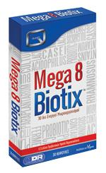 MEGA 8 BIOTIX providing 30 billion probiotic bacteria
