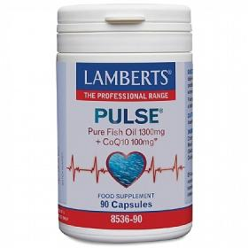 Pulse Pure Fish Oil 1300mg + CoQ10 100mg 90caps