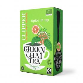 Fairtrade Organic Green Chai Tea 20 bags