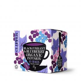 Organic Blackcurrant and Blueberry Infusion 10 Envelopes
