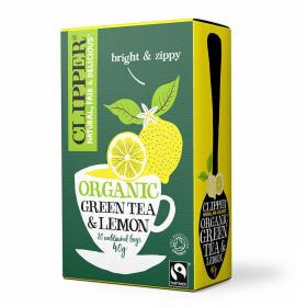 Organic Fairtrade Green with Lemon 20 bags