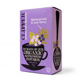 Organic Infusion Blackcurrant & Acai Berry 20 Bags