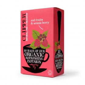 Organic Infusion Red Fruits & Aronia Berry 20 Bags