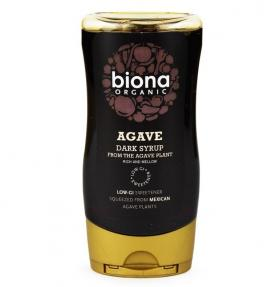 ORGANIC AGAVE SYRUP DARK 250ML