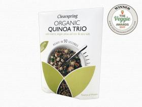 Organic Gluten Free 90sec Quinoa Trio - With Extra Virgin Olive Oil & Sea Salt