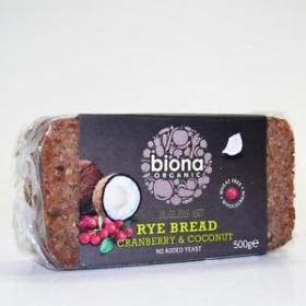 Rye Bread Cranberry & Coconut